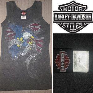 Lightly Worn Harley Davidson Eagle Tank in Medium
